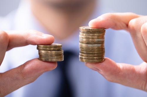income inequalities
